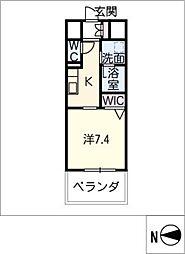 GRAND ESPOIR IZUMI[8階]の間取り