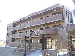 ユ−トピアB[2階]の外観