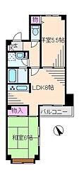 東京都豊島区駒込7丁目の賃貸マンションの間取り