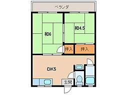 メゾン小幡[1階]の間取り