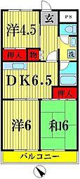第8泉マンション[402号室]の間取り