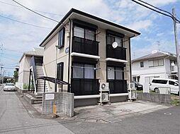 千葉県佐倉市西志津1丁目の賃貸アパートの外観
