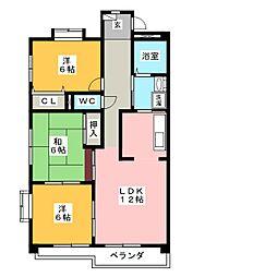 東栄ビル[1階]の間取り