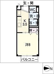 SurplusI BAN[2階]の間取り