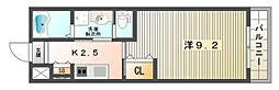 ハピーハウス[1階]の間取り