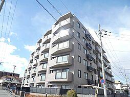 兵庫県明石市魚住町鴨池の賃貸マンションの外観