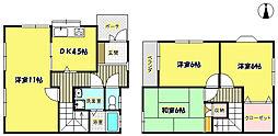 [一戸建] 大阪府箕面市桜5丁目 の賃貸【/】の間取り