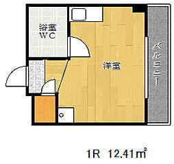 カサベラ花隈[8階]の間取り