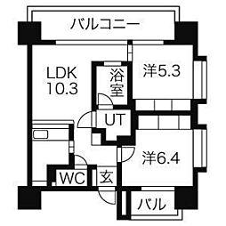 アーデン泉プレミア[9階]の間取り