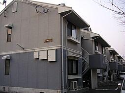 京都府京都市西京区山田畑田町の賃貸アパートの外観