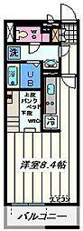 埼玉県八潮市大曾根の賃貸マンションの間取り