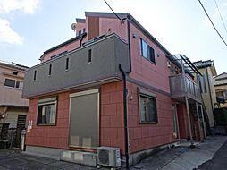 東京都北区滝野川1の賃貸アパートの外観