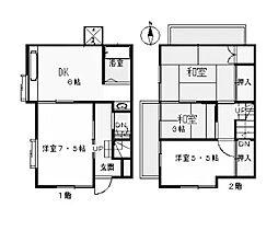 [一戸建] 東京都町田市三輪町 の賃貸【/】の間取り