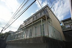 イーグルハイツB[1階]の外観