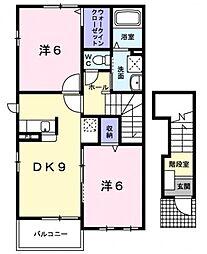 オカムラ 弐番館[1階]の間取り