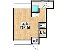 コーポ第三池澤[2階]の間取り