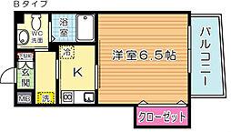 古船場タカヤコーポレーションビル[202号室]の間取り