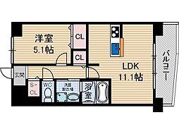 カンマキーノ[1階]の間取り
