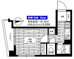 ステージグランデ南麻布[7階]の間取り