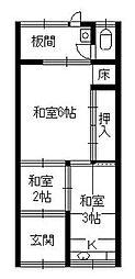 [一戸建] 大阪府守口市寺方本通3丁目 の賃貸【/】の間取り