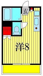 シェークル21[3階]の間取り