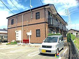 福岡県筑後市大字久富の賃貸アパートの外観