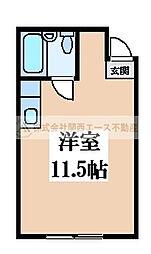 つくしマンション[3階]の間取り