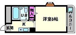 ラ・レジダンス・ド・京橋[7階]の間取り