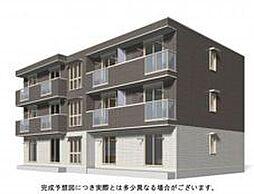 広島県福山市新涯町6の賃貸アパートの外観