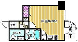 ライブコート北梅田[3階]の間取り