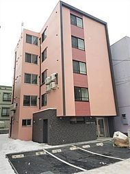 北海道札幌市東区北二十一条東18丁目の賃貸マンションの外観
