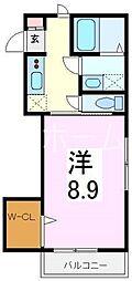 ドリーム音松[2階]の間取り