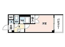 メイワマンション[2階]の間取り