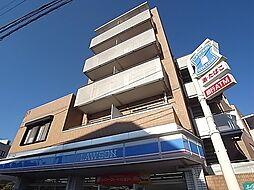 千葉県柏市増尾の賃貸マンションの外観