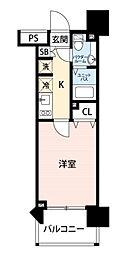 スカイコート新宿壱番館[9階]の間取り