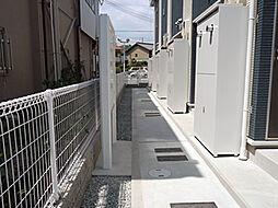 兵庫県姫路市飾磨区矢倉町2丁目の賃貸アパートの外観