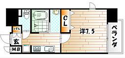 アクシオ小倉[7階]の間取り