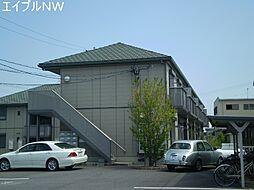 三重県松阪市鎌田町の賃貸アパートの外観