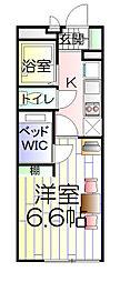 神奈川県川崎市高津区上作延の賃貸マンションの間取り