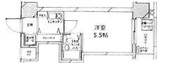 東京都文京区千石4丁目の賃貸マンションの間取り