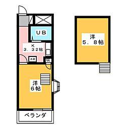 BNレジデンス高崎下小鳥[2階]の間取り
