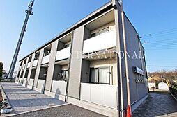 埼玉県越谷市大字向畑の賃貸アパートの外観