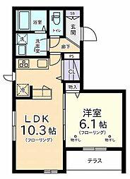 I-COURT(アイ・コート)[1階]の間取り