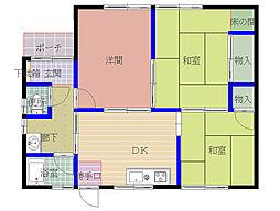 [一戸建] 島根県松江市山代町 の賃貸【/】の間取り