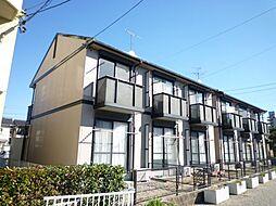 プチハイツ B棟[1階]の外観