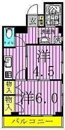 サンライズ千寿[2階]の間取り