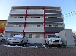 北海道札幌市豊平区豊平六条3丁目の賃貸マンションの外観