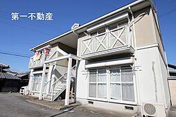 兵庫県西脇市下戸田の賃貸アパートの外観