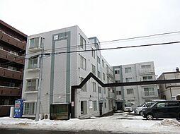 北海道札幌市中央区南二十三条西8丁目の賃貸マンションの外観