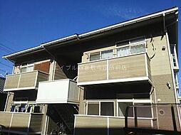 岡山県倉敷市吉岡の賃貸アパートの外観